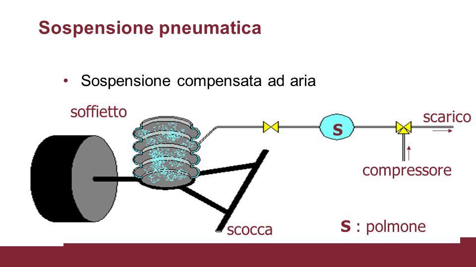 Sospensione pneumatica