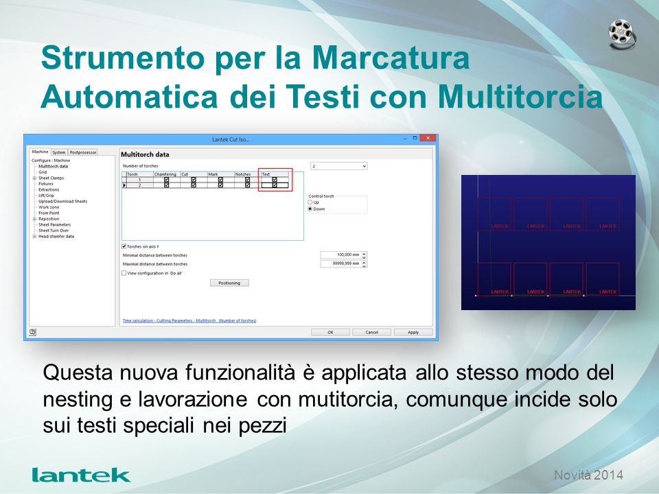 Strumento per la Marcatura Automatica dei Testi con Multitorcia