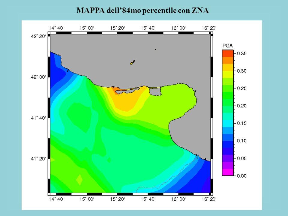 MAPPA dell'84mo percentile con ZNA