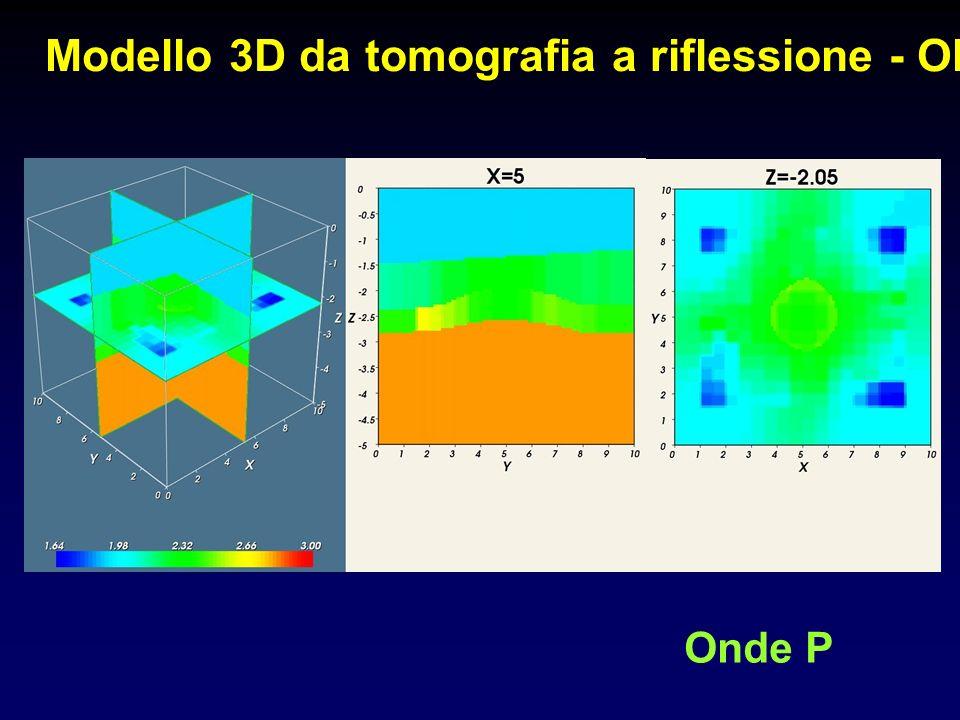 Modello 3D da tomografia a riflessione - Old