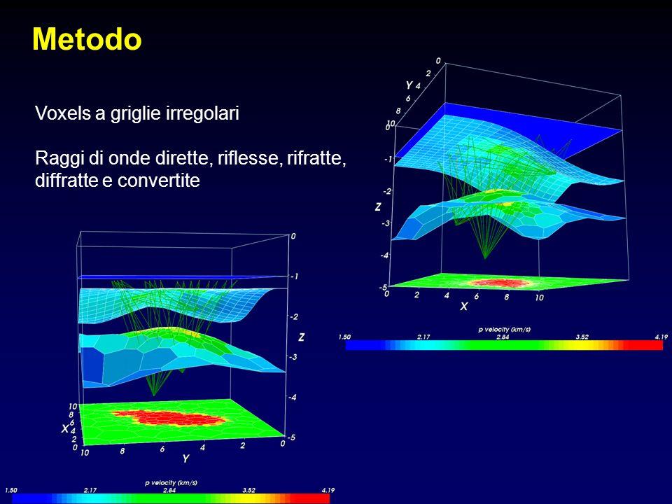 Metodo Voxels a griglie irregolari