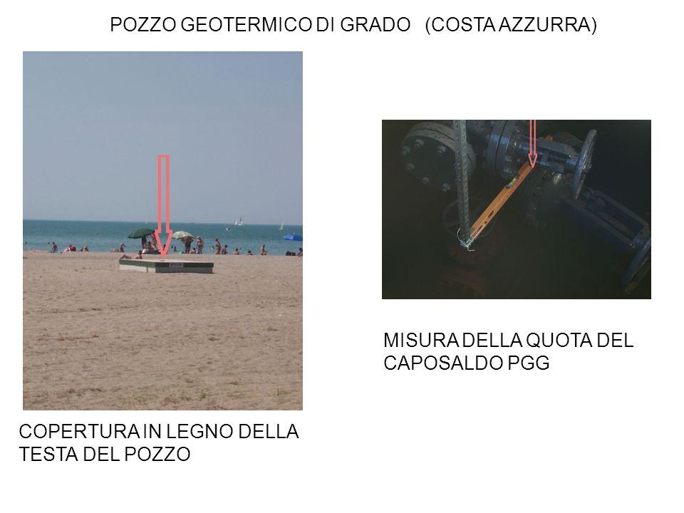 POZZO GEOTERMICO DI GRADO (COSTA AZZURRA)