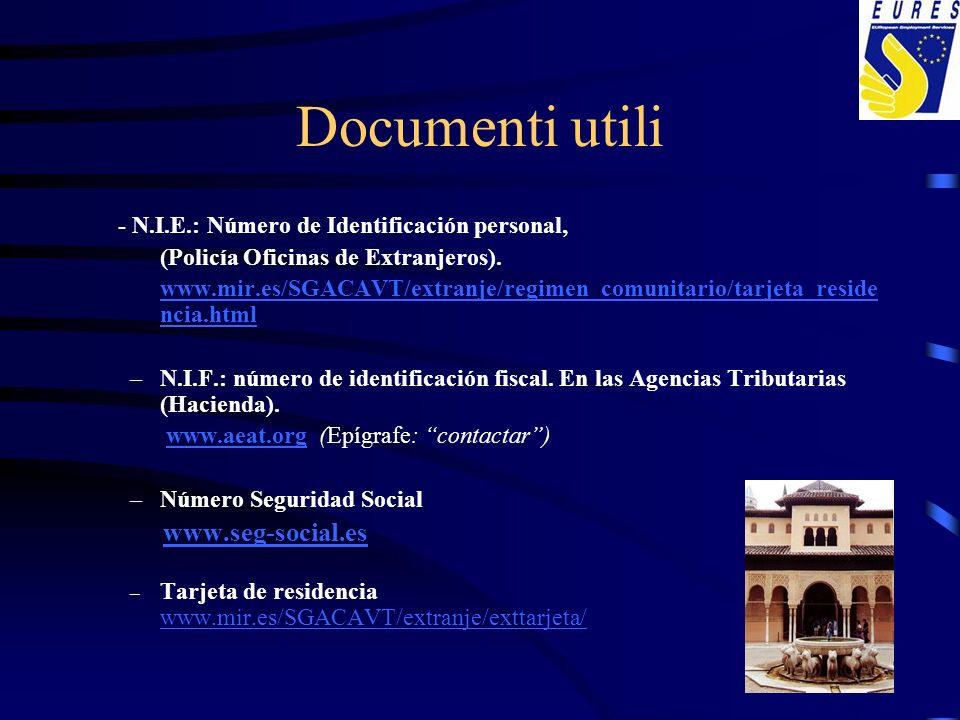 Documenti utili www.seg-social.es