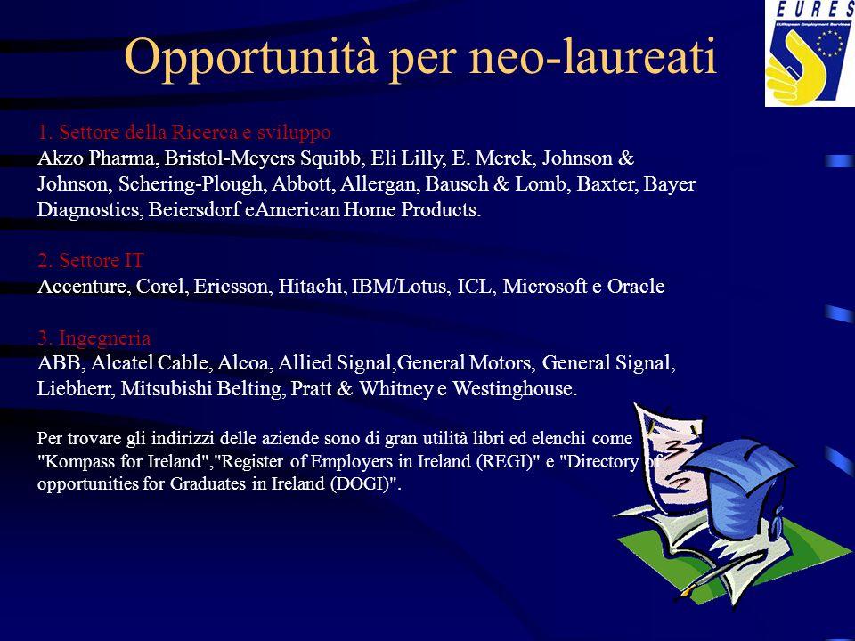 Opportunità per neo-laureati