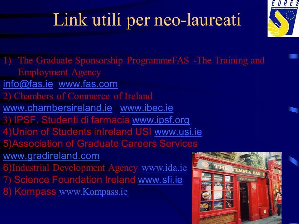 Link utili per neo-laureati