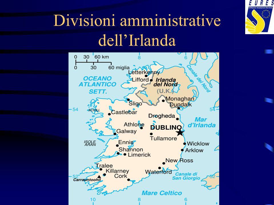 Divisioni amministrative dell'Irlanda