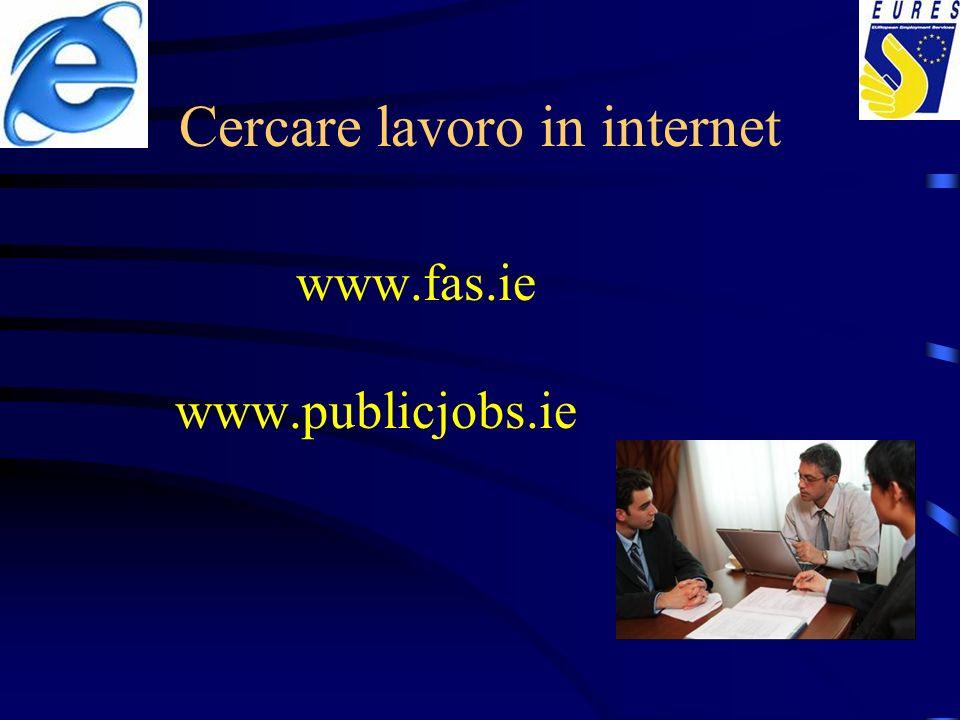 Cercare lavoro in internet
