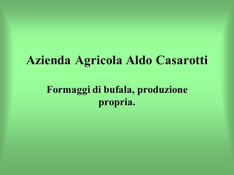 Azienda Agricola Aldo Casarotti