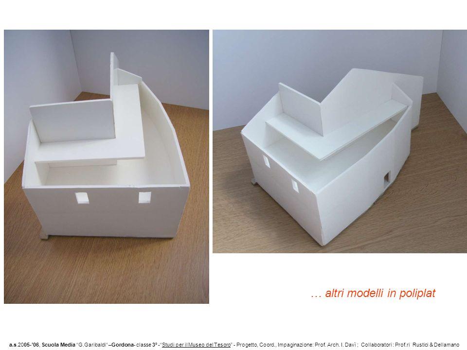 … altri modelli in poliplat