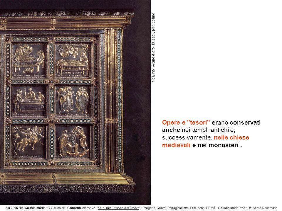 Volvino, Altare d'oro, IX sec., particolare