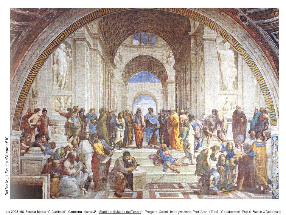 Raffaello, la Scuola d'Atene, 1510