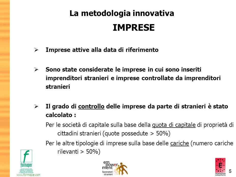 La metodologia innovativa