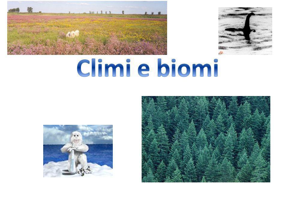 Climi e biomi