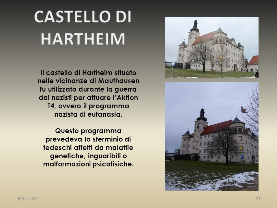 CASTELLO DI HARTHEIM.