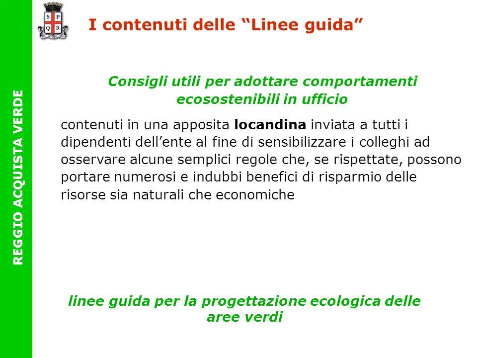 linee guida per la progettazione ecologica delle aree verdi