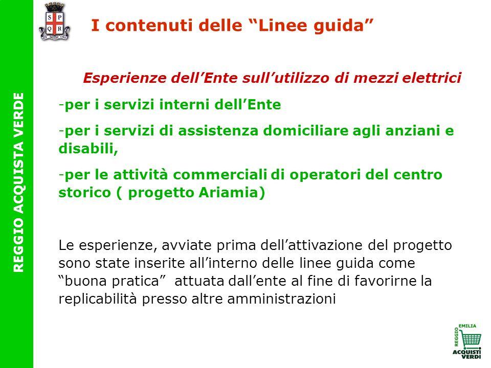 I contenuti delle Linee guida