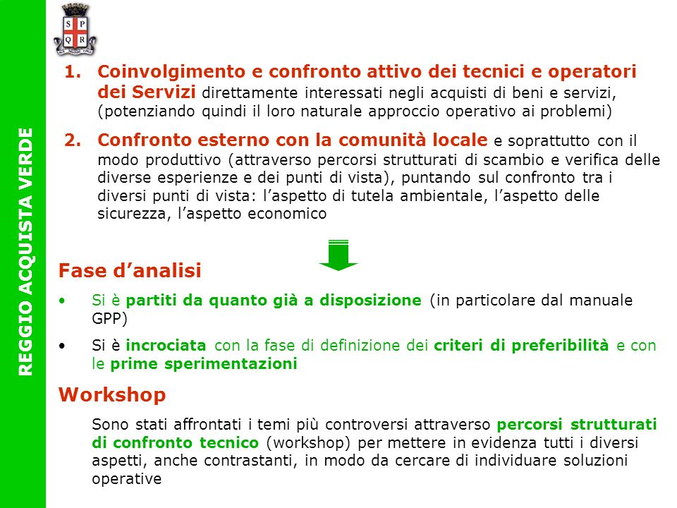Fase d'analisi Workshop