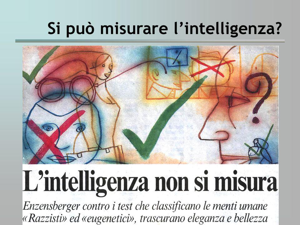 Si può misurare l'intelligenza