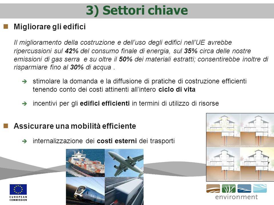 3) Settori chiave Migliorare gli edifici
