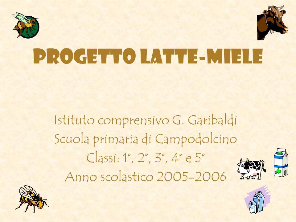 PROGETTO LATTE-MIELE Istituto comprensivo G. Garibaldi