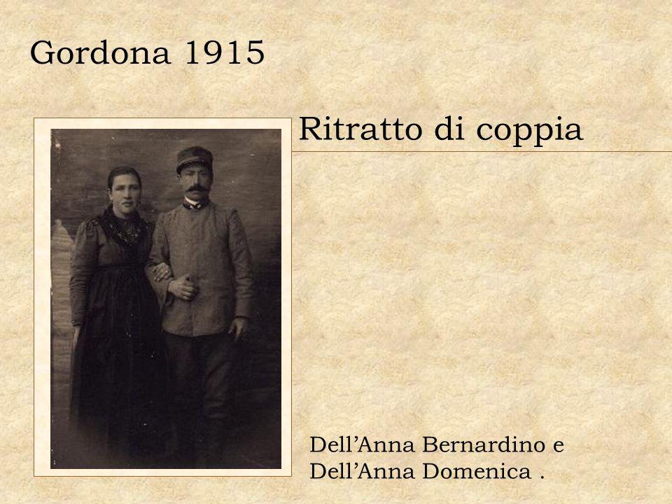 Gordona 1915 Ritratto di coppia