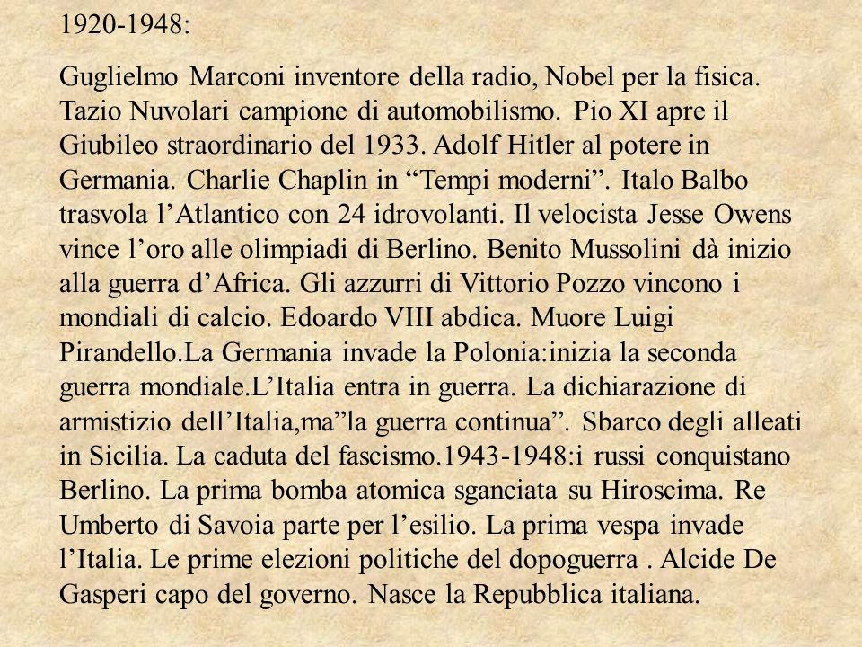1920-1948: