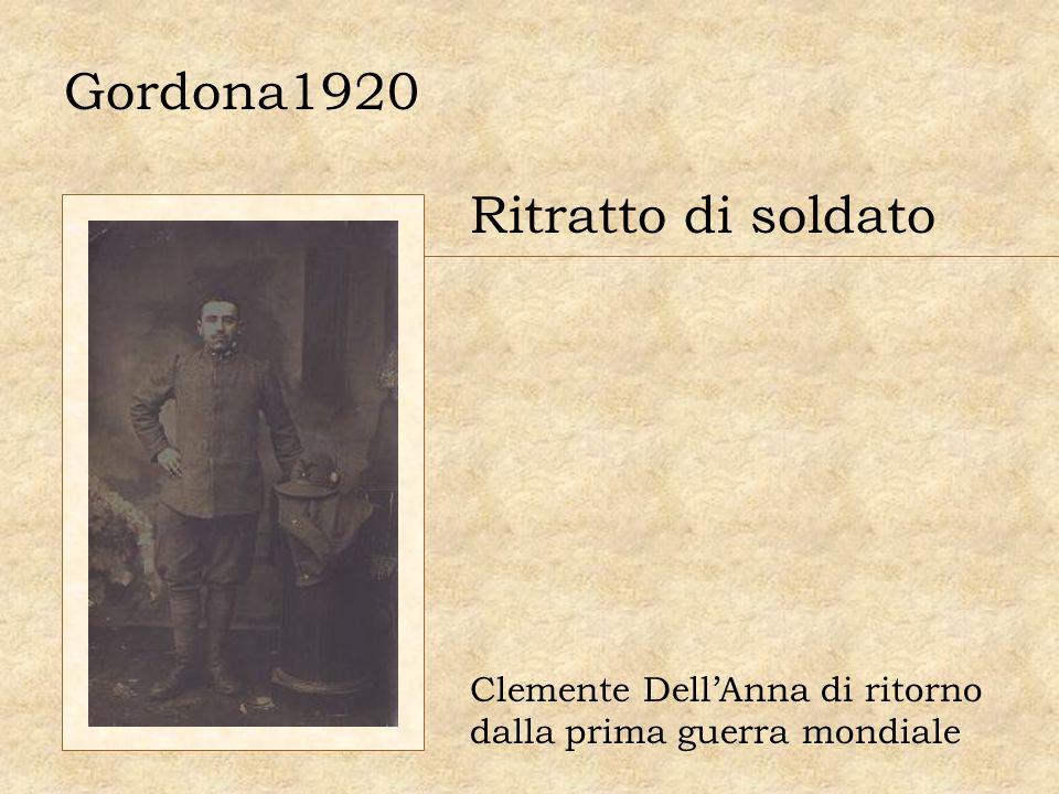 Gordona1920 Ritratto di soldato