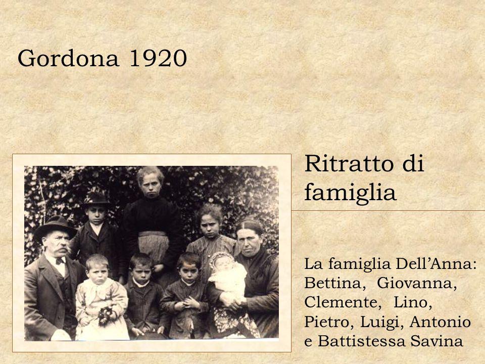 Gordona 1920 Ritratto di famiglia