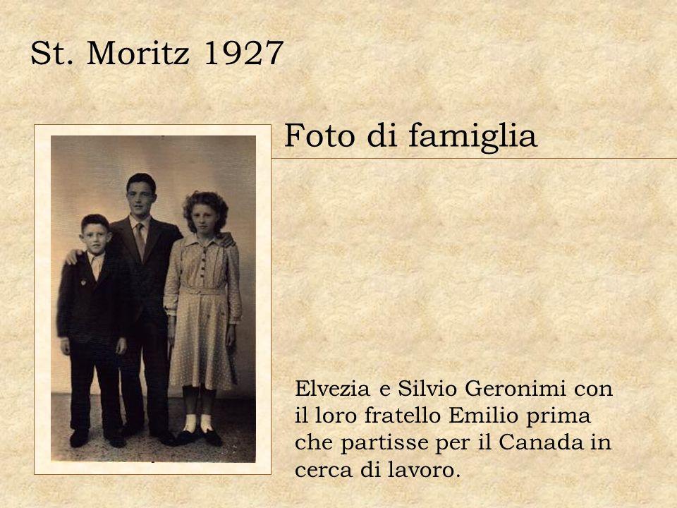 St. Moritz 1927 Foto di famiglia