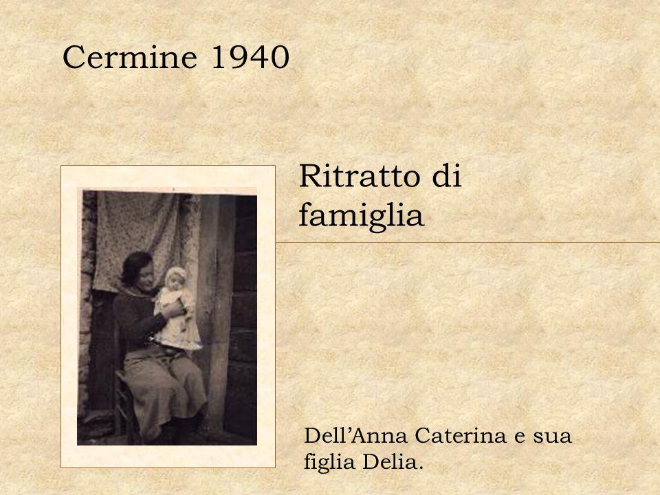 Cermine 1940 Ritratto di famiglia