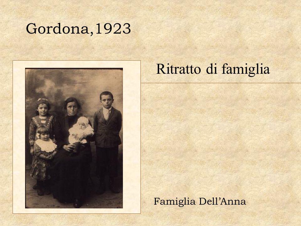 Gordona,1923 Ritratto di famiglia Famiglia Dell'Anna