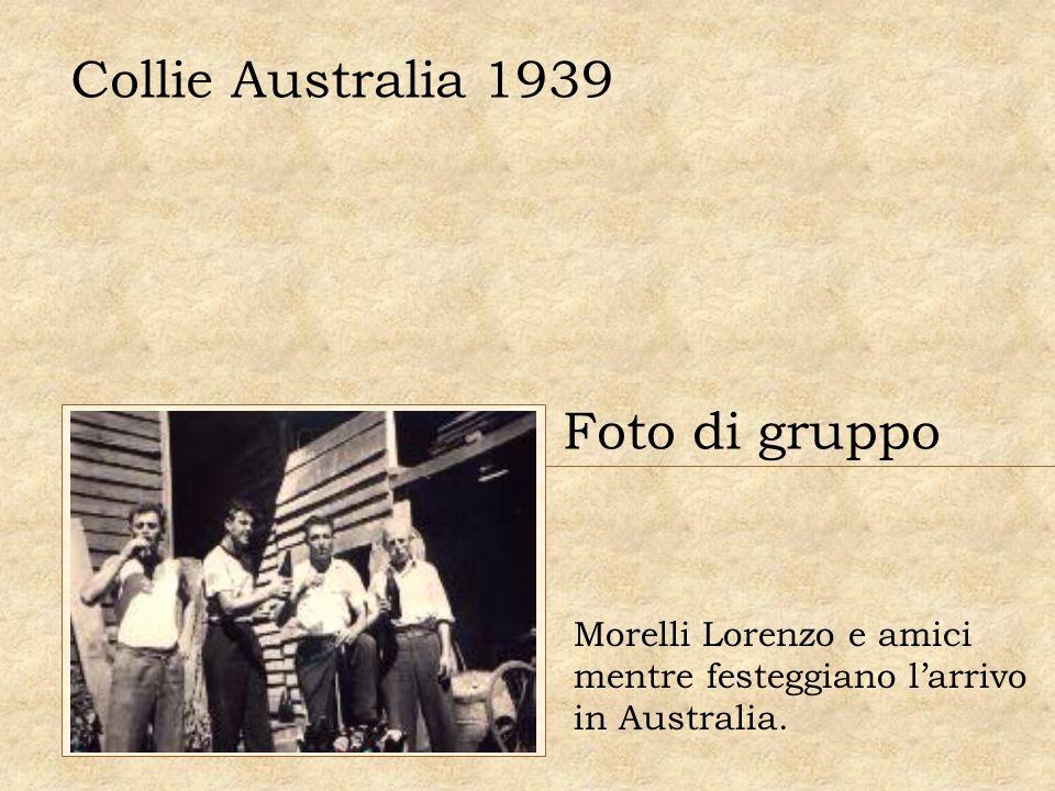 Collie Australia 1939 Foto di gruppo Morelli Lorenzo e amici