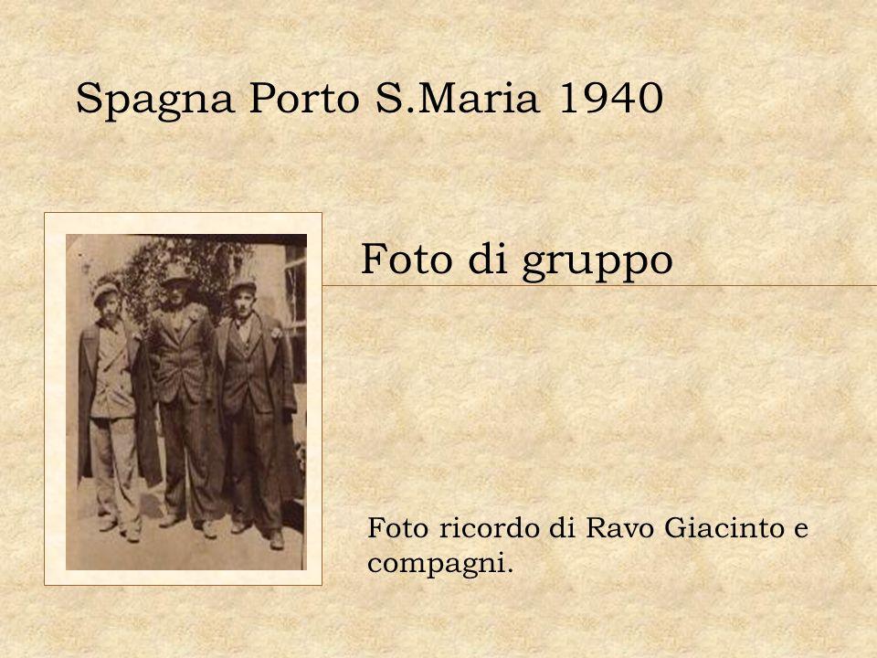 Spagna Porto S.Maria 1940 Foto di gruppo