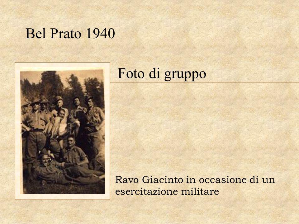 Bel Prato 1940 Foto di gruppo