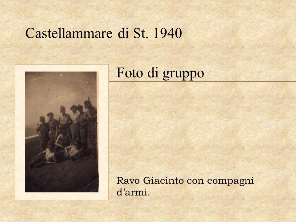 Castellammare di St. 1940 Foto di gruppo