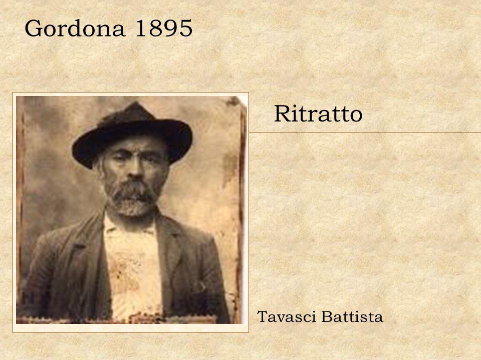 Gordona 1895 Ritratto Tavasci Battista