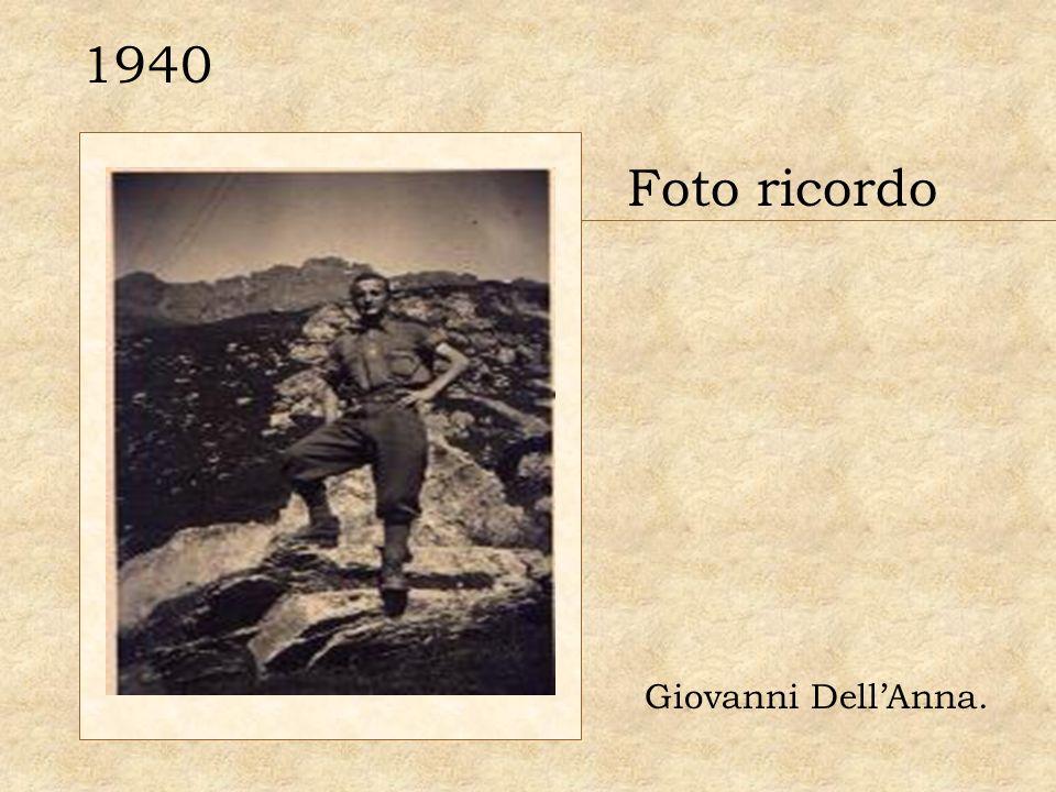 1940 Foto ricordo Giovanni Dell'Anna.