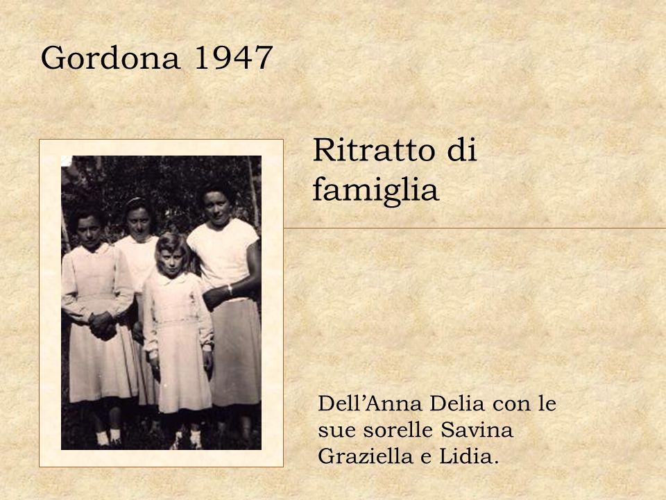 Gordona 1947 Ritratto di famiglia