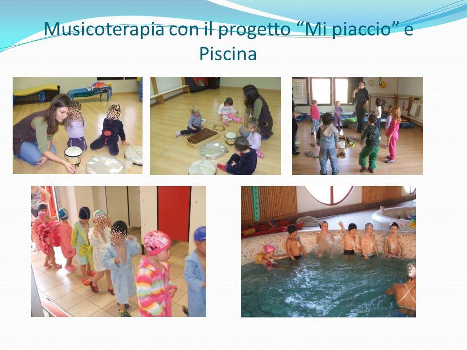 Musicoterapia con il progetto Mi piaccio e Piscina