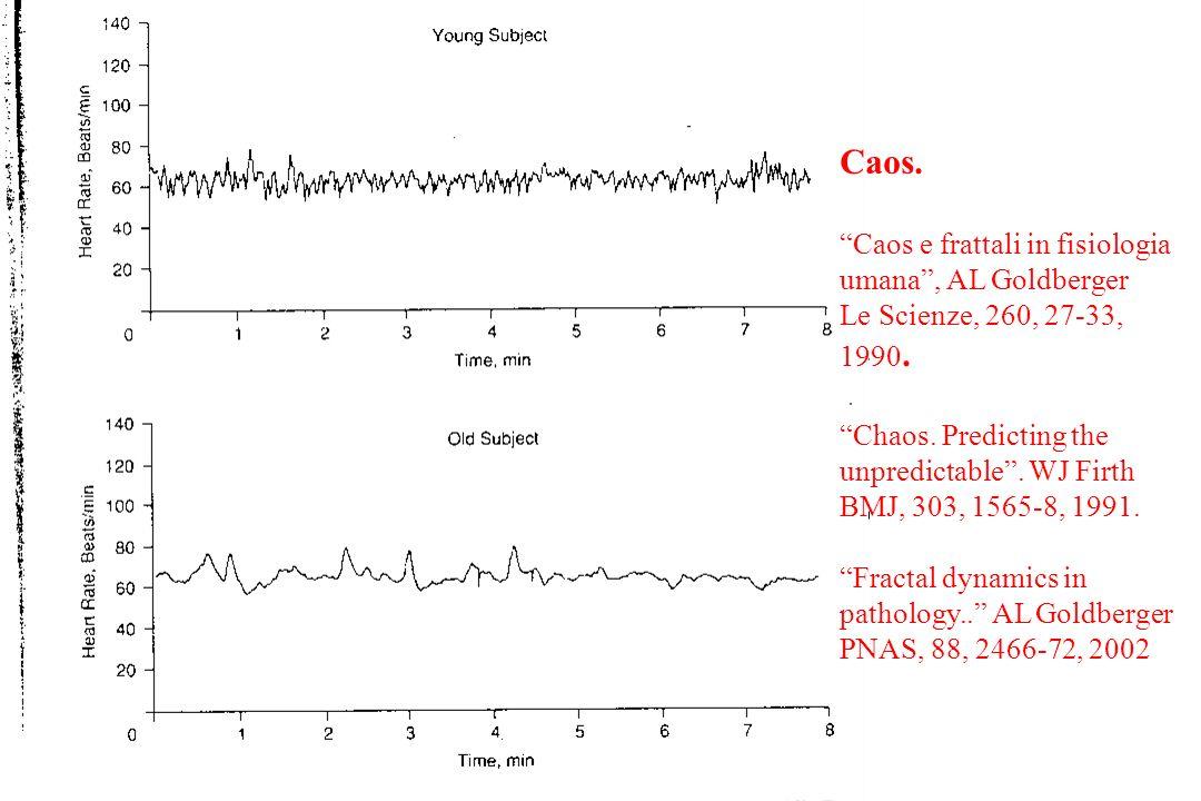 Caos. Caos e frattali in fisiologia umana , AL Goldberger