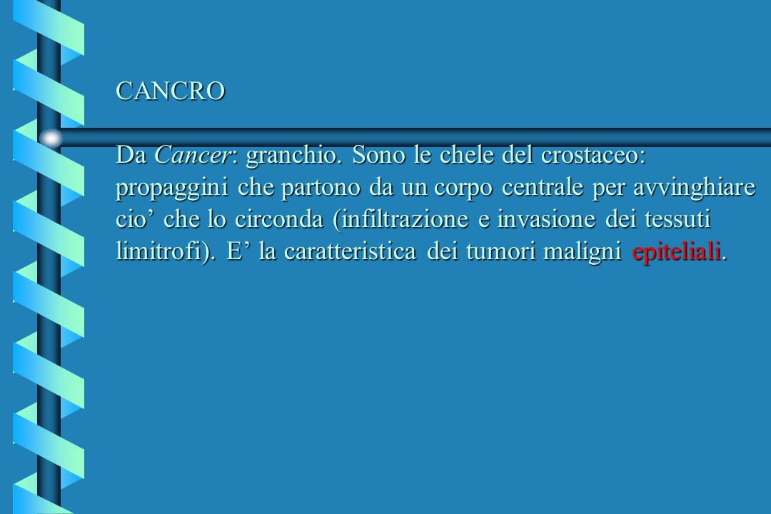 CANCRO Da Cancer: granchio