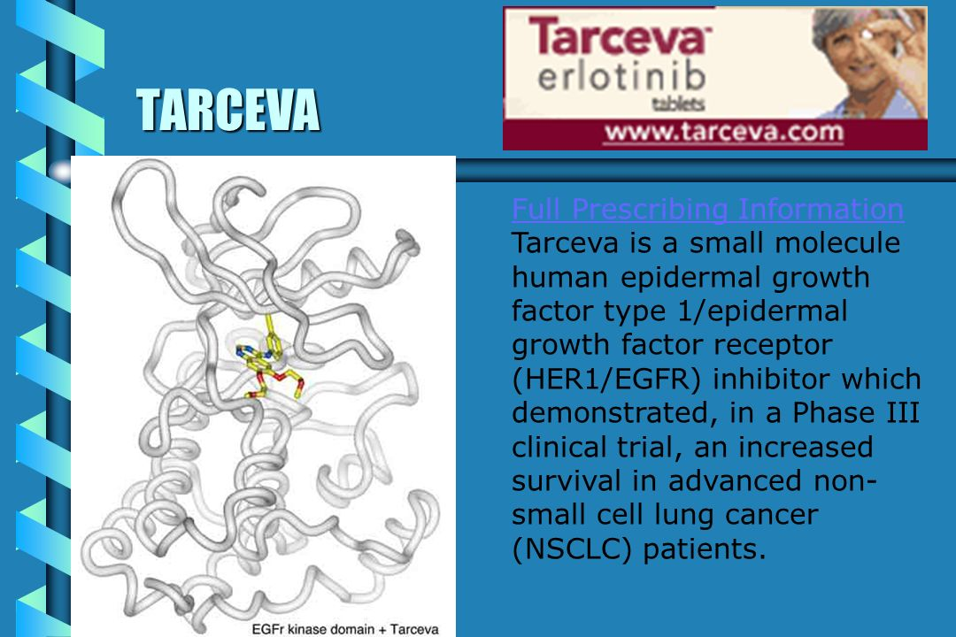 TARCEVA Full Prescribing Information