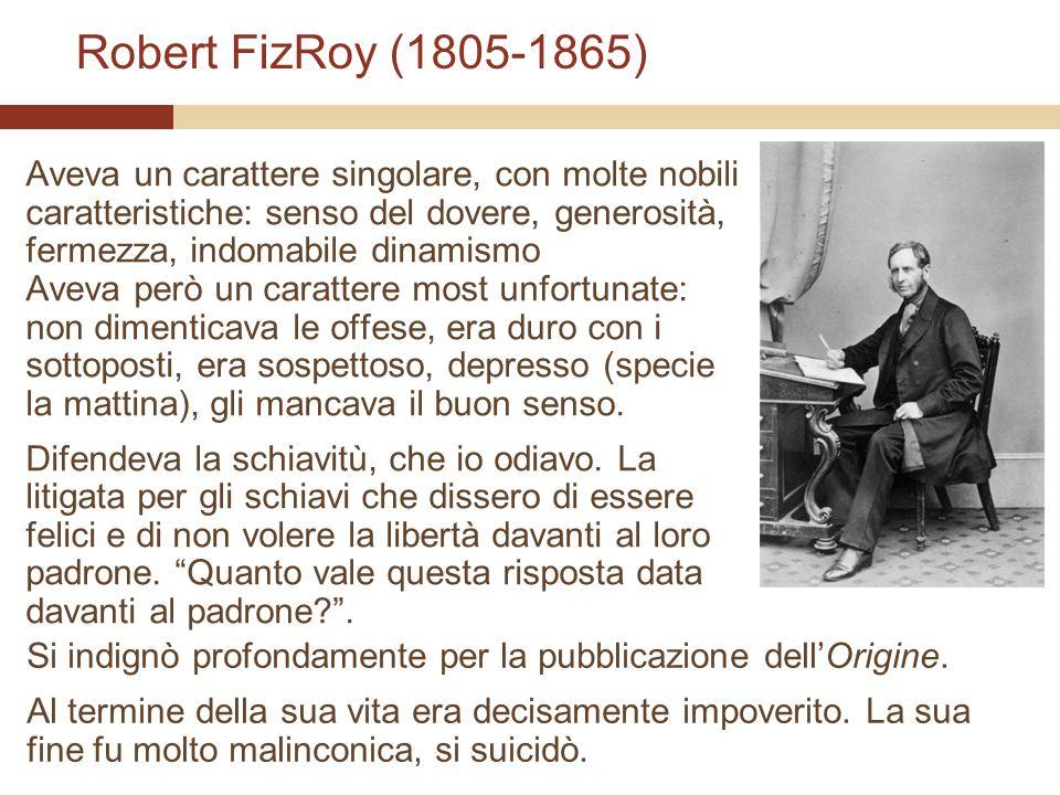 Robert FizRoy (1805-1865)