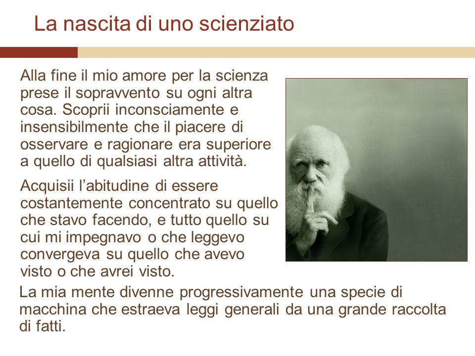 La nascita di uno scienziato