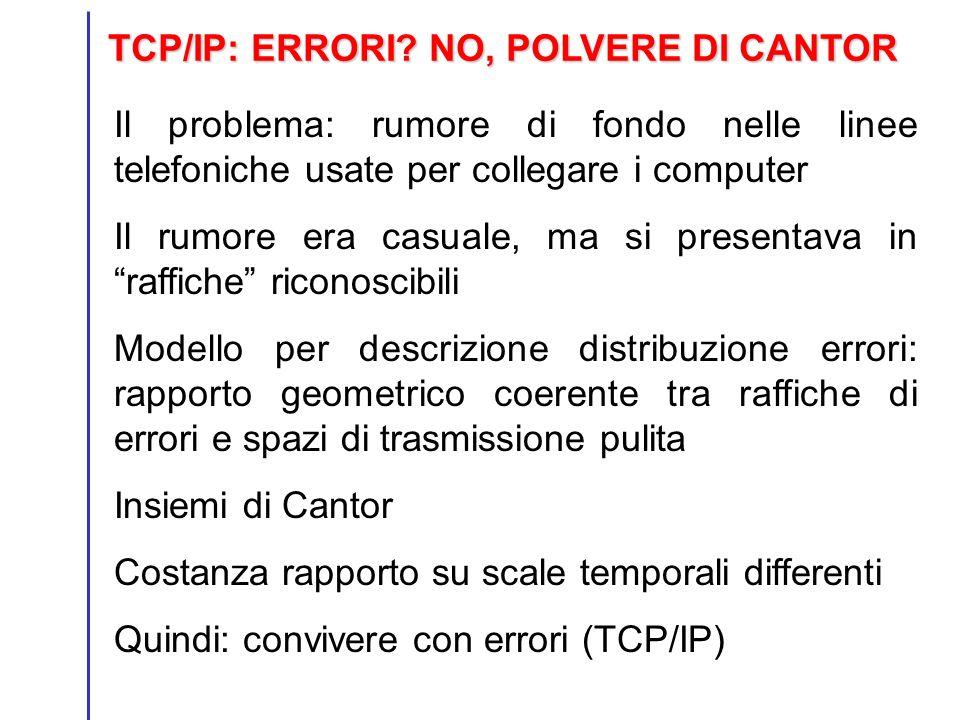 TCP/IP: ERRORI NO, POLVERE DI CANTOR