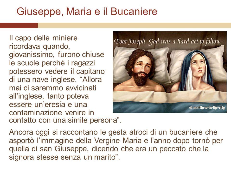 Giuseppe, Maria e il Bucaniere