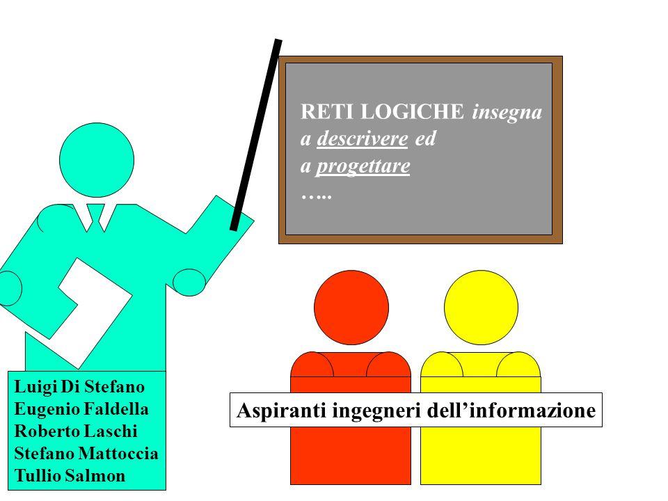Aspiranti ingegneri dell'informazione RETI LOGICHE insegna