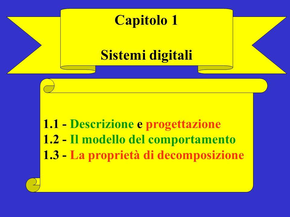 Capitolo 1 Sistemi digitali