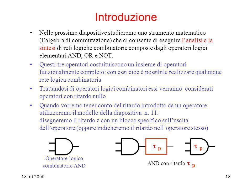 Operatore logico combinatorio AND