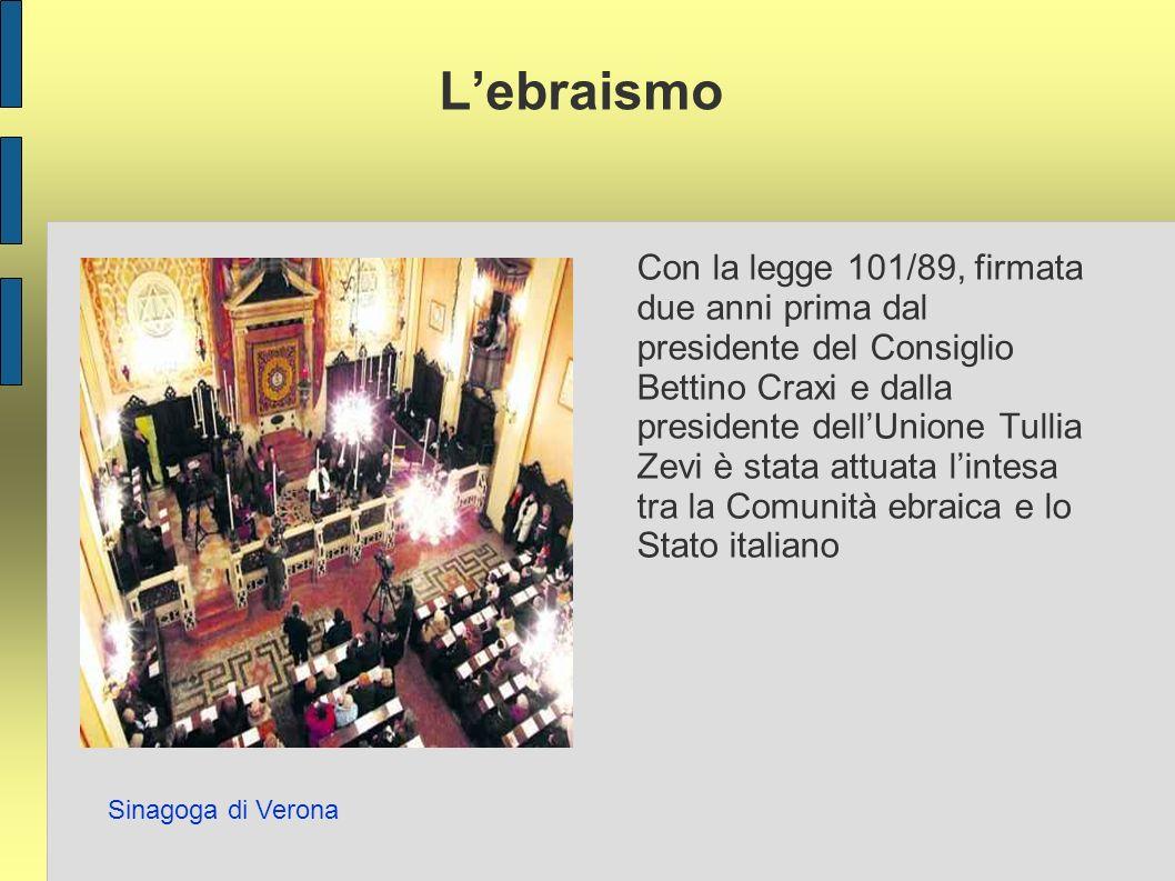 L'ebraismo Sinagoga di Verona